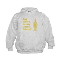 Say Hello to My Little Friend Kids Hoodie
