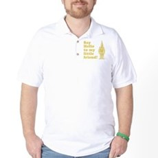 Say Hello to My Little Friend Golf Shirt