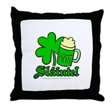 Sláinte! Throw Pillow