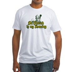 St. Patrick is my Homeboy Fitted T-Shirt