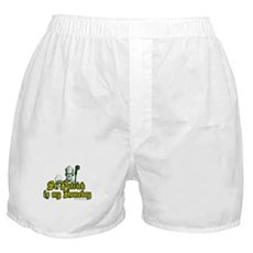 St. Patrick is my Homeboy Boxer Shorts