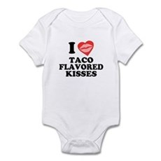 Taco Flavored Kisses Infant Creeper
