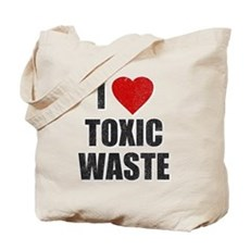 I Love [Heart] Toxic Waste Tote Bag