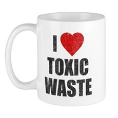 I Love [Heart] Toxic Waste Mug