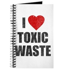 I Love [Heart] Toxic Waste Journal