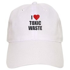 I Love [Heart] Toxic Waste Cap