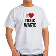 I Love [Heart] Toxic Waste Light T-Shirt