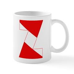 http://i2.cpcache.com/product/189254369/scuba_flag_letter_z_mug.jpg?side=Back&color=White&height=240&width=240