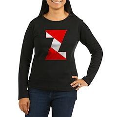 http://i2.cpcache.com/product/189254401/scuba_flag_letter_z_tshirt.jpg?color=Black&height=240&width=240