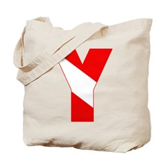 http://i2.cpcache.com/product/189257489/scuba_flag_letter_y_tote_bag.jpg?height=240&width=240