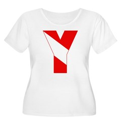 http://i2.cpcache.com/product/189257517/scuba_flag_letter_y_tshirt.jpg?color=White&height=240&width=240