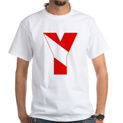 http://i2.cpcache.com/product/189257525/scuba_flag_letter_y_shirt.jpg?color=White&height=240&width=240