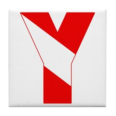 http://i2.cpcache.com/product/189257529/scuba_flag_letter_y_tile_coaster.jpg?height=240&width=240