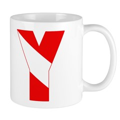 http://i2.cpcache.com/product/189257533/scuba_flag_letter_y_mug.jpg?side=Back&color=White&height=240&width=240