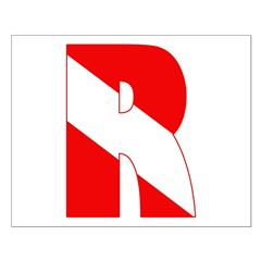 http://i2.cpcache.com/product/189266537/scuba_flag_letter_r_posters.jpg?height=240&width=240