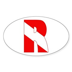 http://i2.cpcache.com/product/189266555/scuba_flag_letter_r_oval_decal.jpg?color=White&height=240&width=240