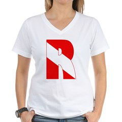 http://i2.cpcache.com/product/189266609/scuba_flag_letter_r_shirt.jpg?color=White&height=240&width=240