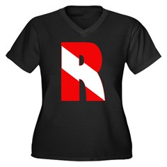 http://i2.cpcache.com/product/189266611/scuba_flag_letter_r_womens_plus_size_vneck_dark.jpg?color=Black&height=240&width=240