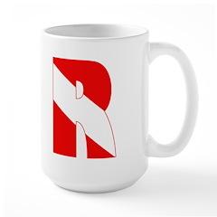 http://i2.cpcache.com/product/189266627/scuba_flag_letter_r_mug.jpg?height=240&width=240
