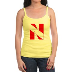 http://i2.cpcache.com/product/189272133/scuba_flag_letter_n_jrspaghetti_strap.jpg?color=White&height=240&width=240