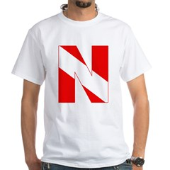 http://i2.cpcache.com/product/189272181/scuba_flag_letter_n_shirt.jpg?color=White&height=240&width=240