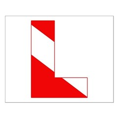 http://i2.cpcache.com/product/189274613/scuba_flag_letter_l_posters.jpg?height=240&width=240