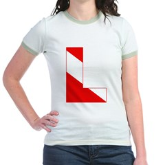 http://i2.cpcache.com/product/189274657/scuba_flag_letter_l_t.jpg?color=PinkSalmon&height=240&width=240