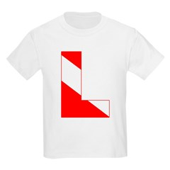 http://i2.cpcache.com/product/189274703/scuba_flag_letter_l_tshirt.jpg?color=White&height=240&width=240