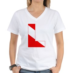 http://i2.cpcache.com/product/189274727/scuba_flag_letter_l_shirt.jpg?color=White&height=240&width=240
