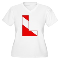 http://i2.cpcache.com/product/189274729/scuba_flag_letter_l_tshirt.jpg?color=White&height=240&width=240