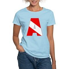 http://i2.cpcache.com/product/189285255/scuba_flag_letter_a_tshirt.jpg?color=LightBlue&height=240&width=240