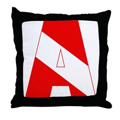 http://i2.cpcache.com/product/189285267/scuba_flag_letter_a_throw_pillow.jpg?height=240&width=240
