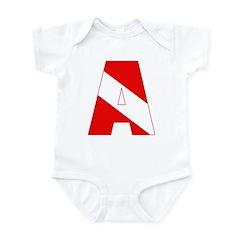 http://i2.cpcache.com/product/189285273/scuba_flag_letter_a_infant_bodysuit.jpg?color=CloudWhite&height=240&width=240