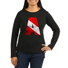 http://i2.cpcache.com/product/189285283/scuba_flag_letter_a_tshirt.jpg?color=Black&height=240&width=240
