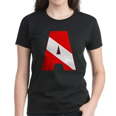 http://i2.cpcache.com/product/189285295/scuba_flag_letter_a_tee.jpg?color=Black&height=240&width=240