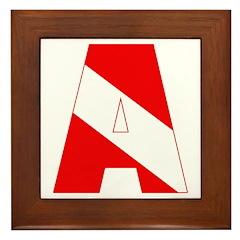 http://i2.cpcache.com/product/189285303/scuba_flag_letter_a_framed_tile.jpg?height=240&width=240
