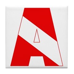 http://i2.cpcache.com/product/189285305/scuba_flag_letter_a_tile_coaster.jpg?height=240&width=240