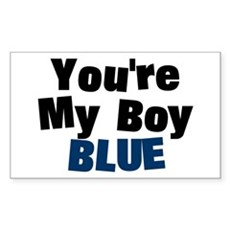 Your My Boy Blue Rectangle Sticker