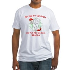 Act Like It's Christmas Fitted T-Shirt