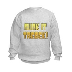 Suck it Trebek! Kids Sweatshirt