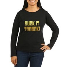 Suck it Trebek! Womens Long Sleeve T-Shirt