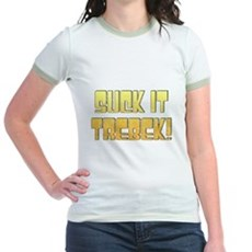 Suck it Trebek! Jr Ringer T-Shirt