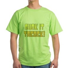 Suck it Trebek! Green T-Shirt