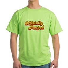 Officially Pimped Green T-Shirt