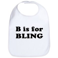 B is for BLING Bib