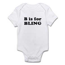 B is for BLING Infant Creeper