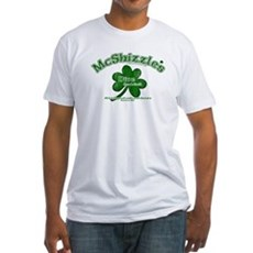 McShizzle's Dive Bar & Grill Fitted T-Shirt