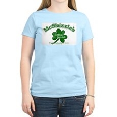 McShizzle's Dive Bar & Grill Womens Pink T-Shirt