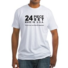 24 Piece Set Fitted T-Shirt