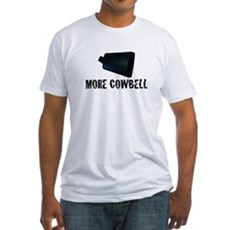 More Cowbell v.2 Fitted T-Shirt